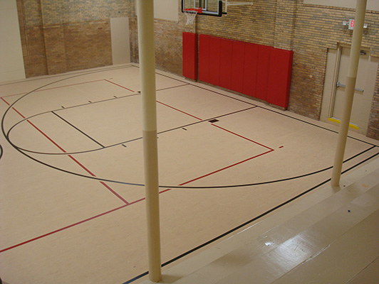 Union YMCA - Indoor Sports Flooring