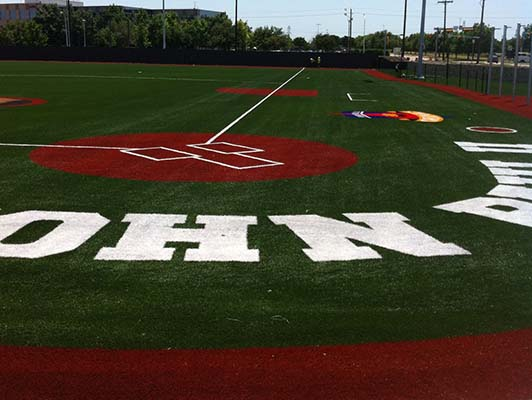 John Paul II High School Baseball / Softball Field Turf