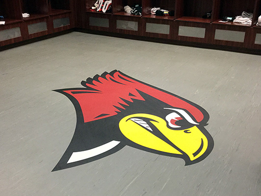 Locker Room Flooring - IL State University