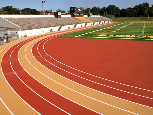Baldwin Wallace University - Outdoor Running Track Surfaces