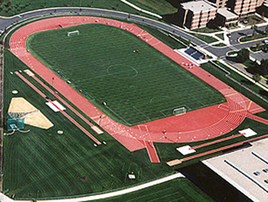 Gustavus Adolphus College - Outdoor Track And Field Surfaces