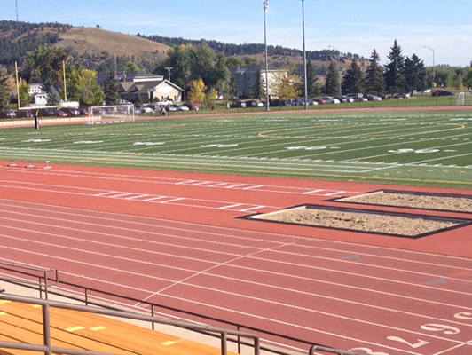 Sioux Park - Outdoor Running Track & Field Surfaces