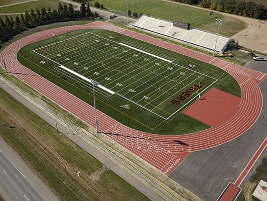 Southwest Minnesota State University - Outdoor Track Field Surfaces