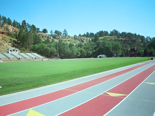 Sturgis High School - Outdoor Track And Field Surfaces