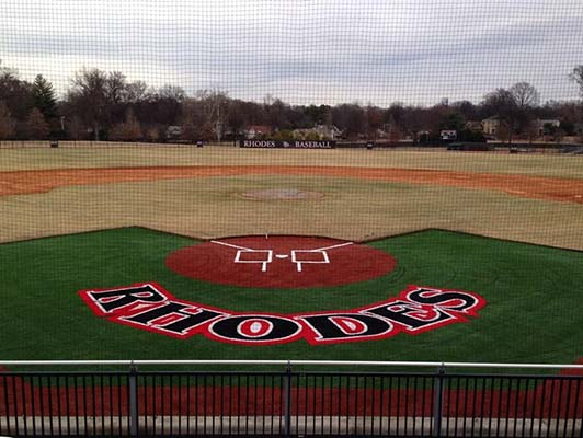 Rhodes College Baseball Turf