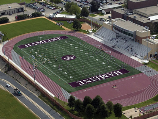 Hamline University Running Track Surfaces Kiefer NE