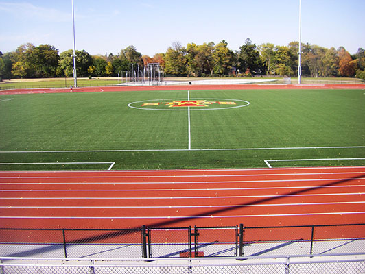 Iowa State University Soccer Field Artificial Turf