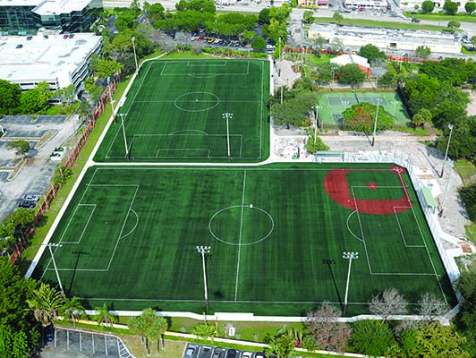 Sand Pine Park Artificial Soccer Turf