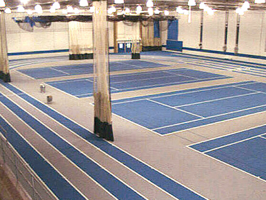 Eastern Illinois University Running Track Surfaces