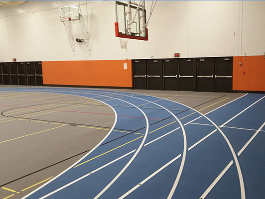 Hersey High School Running Track Surfaces