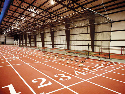 Indiana Wesleyan University Running Track Surfaces