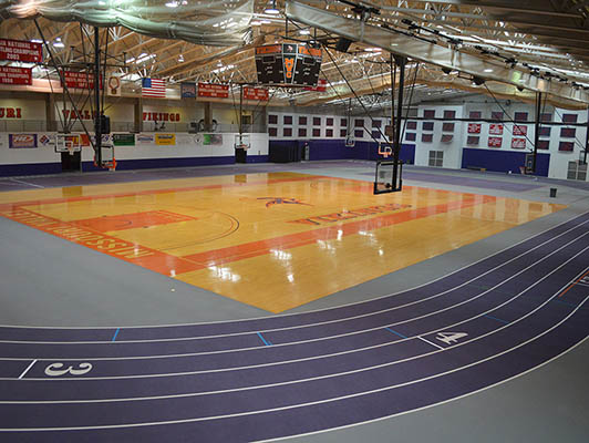 Missouri Valley College Running Track Surfaces