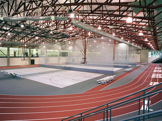 Monmouth College Running Track Surfaces