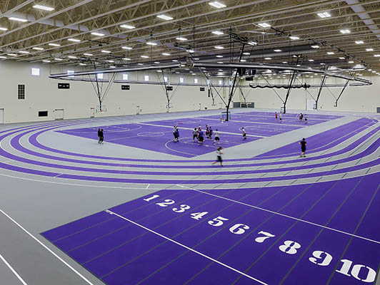 Olivet Nazarene University Running Track Surfaces