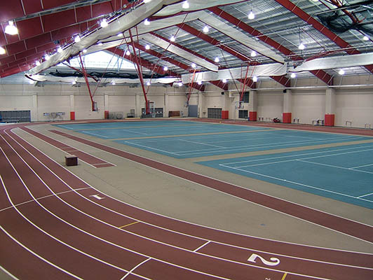Otterbein College Running Track Surfaces