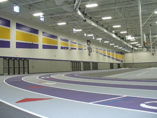 Stevens Point High School Running Track Surfaces