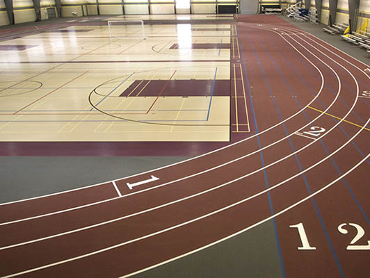 Sycamore High School Running Track Surfaces
