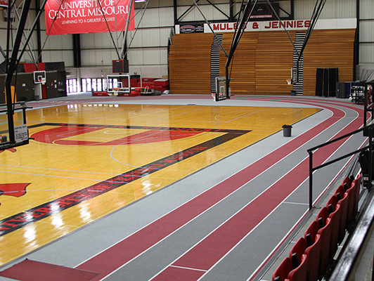Running Track Surfaces University Of Central Missouri