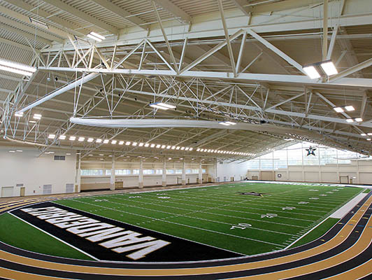Vanderbilt University Running Track Surfaces