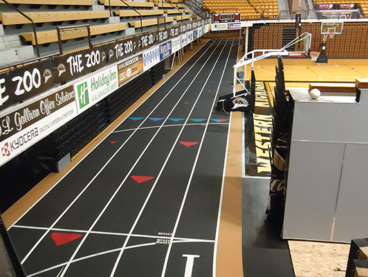Western Michigan University Running Track Surfaces