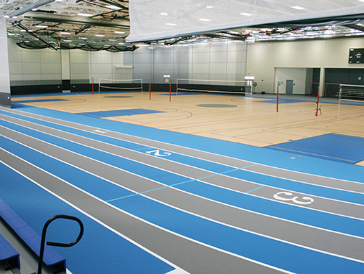 Willowbrook High School Running Track Surfaces