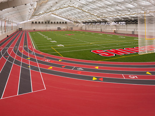 Youngstown State University Running Track Surfaces