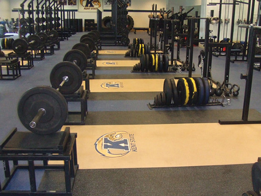 Weight Room Flooring - Kent State University