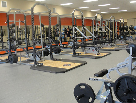 Weight Room Flooring Dekalb High School
