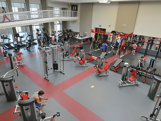 Weight Room Flooring Denison University