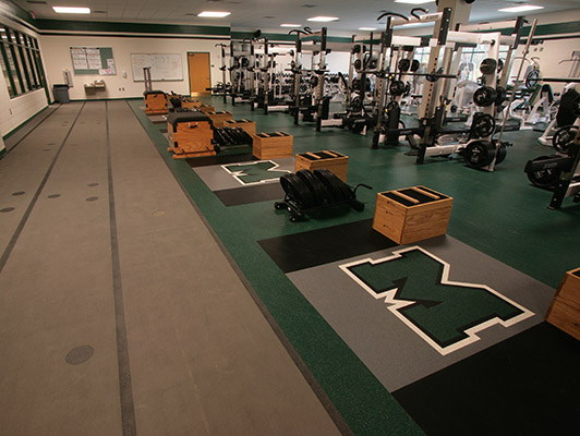 Weight Room Floor - Mason High School