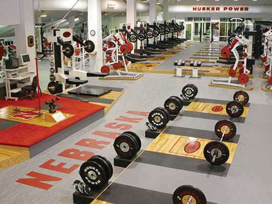 Weight Room Flooring - University Of Nebraska
