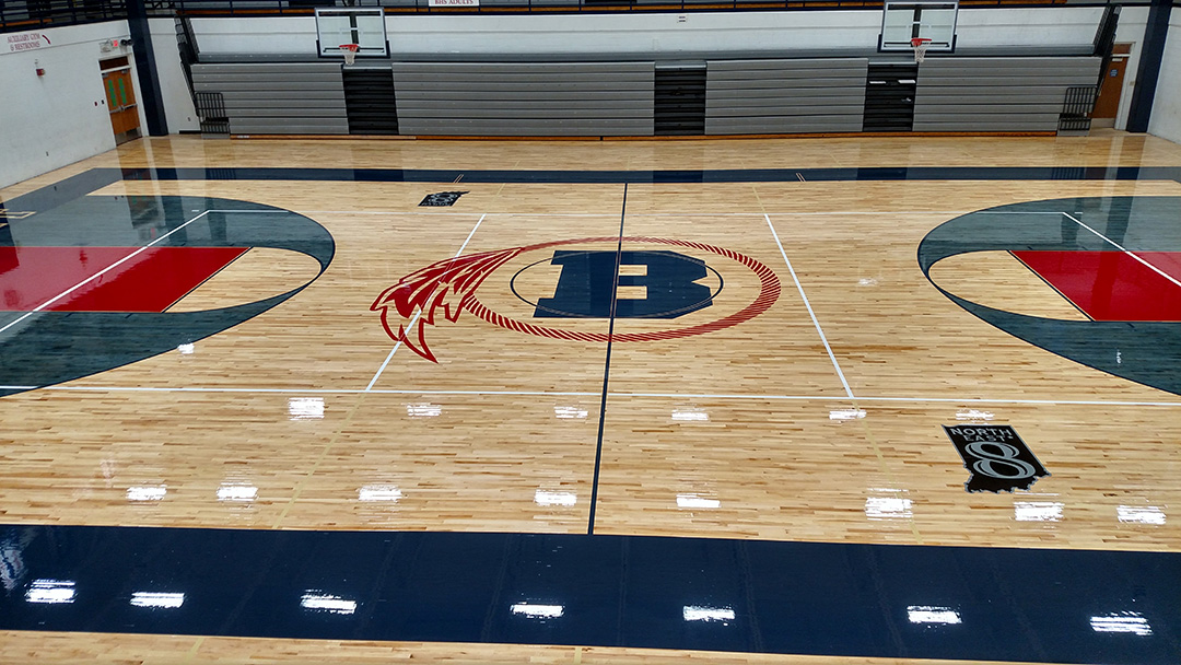 Bellmont High School - Gymnasium Flooring