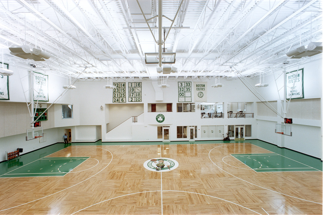 Boston Celtics - Parquet Pattern Hardwood Gym Floor