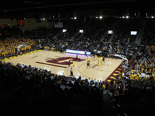 Central Michigan University - Gym Floor - Basketball Flooring
