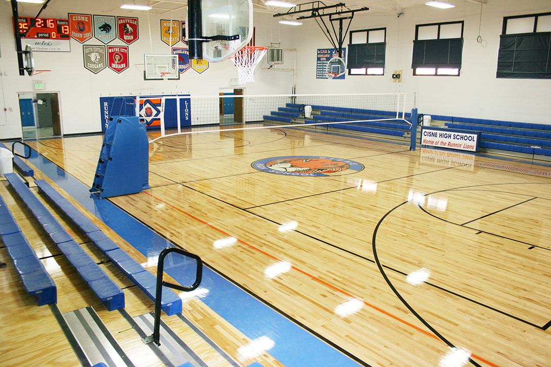 Cisne High School - Gymnasium Flooring