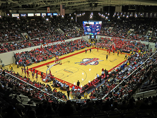 University Of Detroit Mercy - Hardwood Gym Flooring