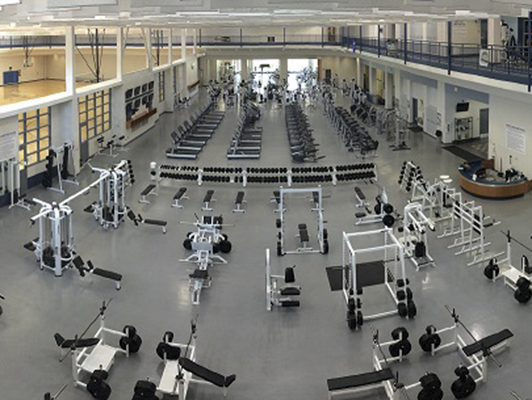 East Tennessee State University Rec