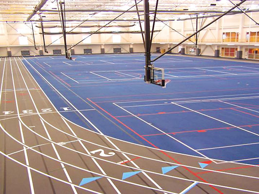Fox Valley Park District Sports Flooring