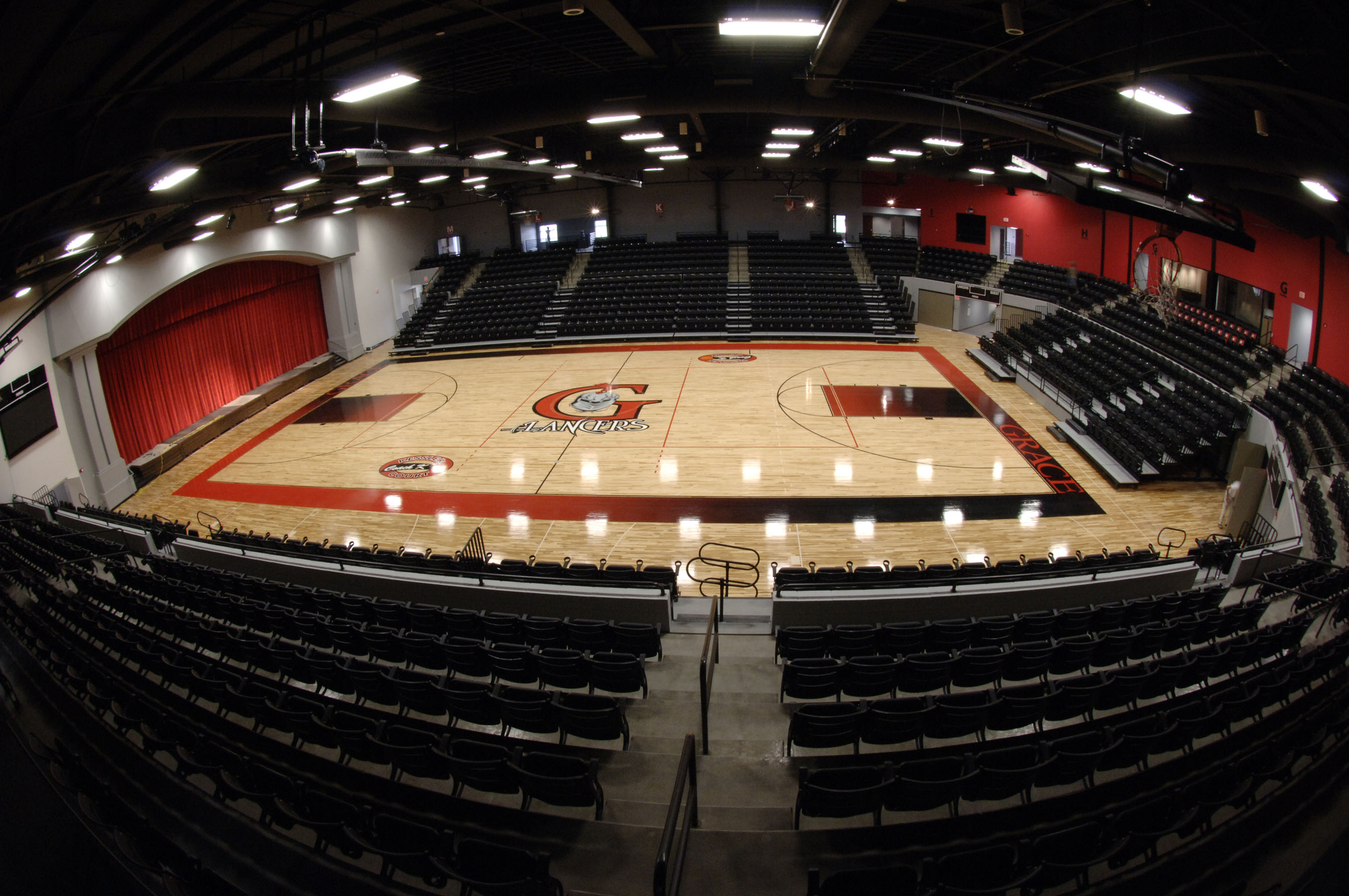Grace College - Hardwood Gym Floor