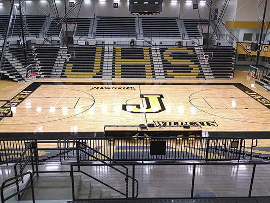Jasper High School - Gym Flooring - Basketball Court Flooring
