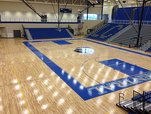 Lake Central High School - Hardwood Gym Flooring