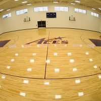 University Evansville - Wood Gym Flooring