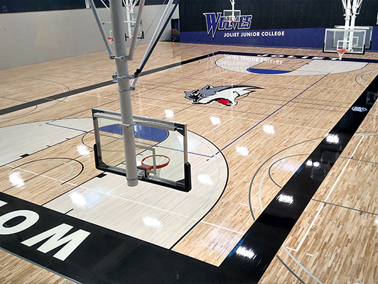 Joliet Junior College - Hardwood Gym Floor