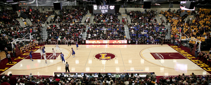 Loyola Academy - Gym Flooring - Basketball Court Flooring