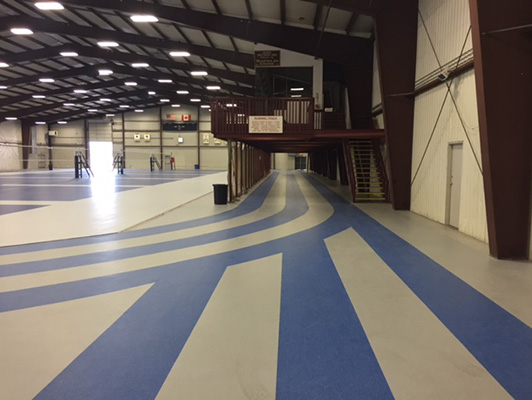 Fargo South Ice Arena Flooring