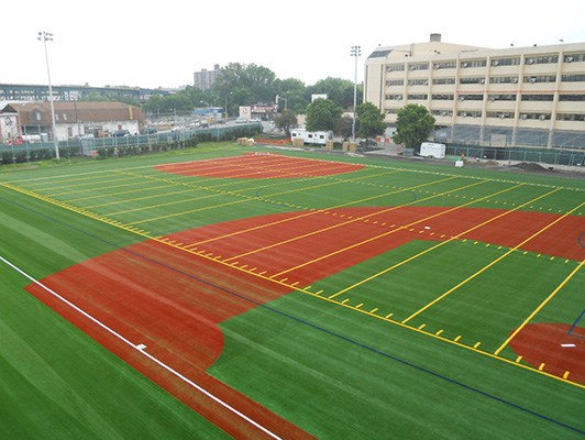 Herbert Lehman High School - Outdoor Sports Flooring