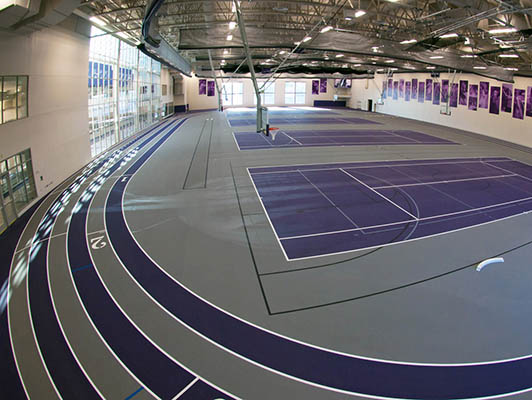 University Of St. Thomas - Indoor Sports Flooring