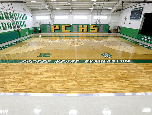 Providence Catholic High School - Hardwood Gym Floor