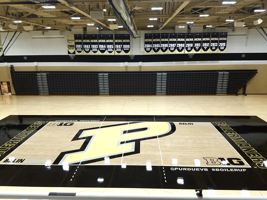 Purdue University - Holloway Gym Flooring