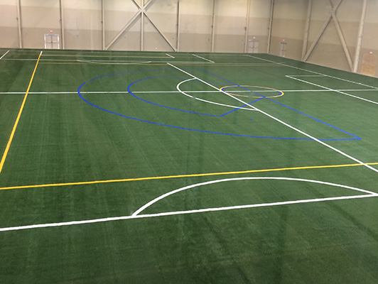 BielenBurg Sports Center - Indoor Rubber Flooring